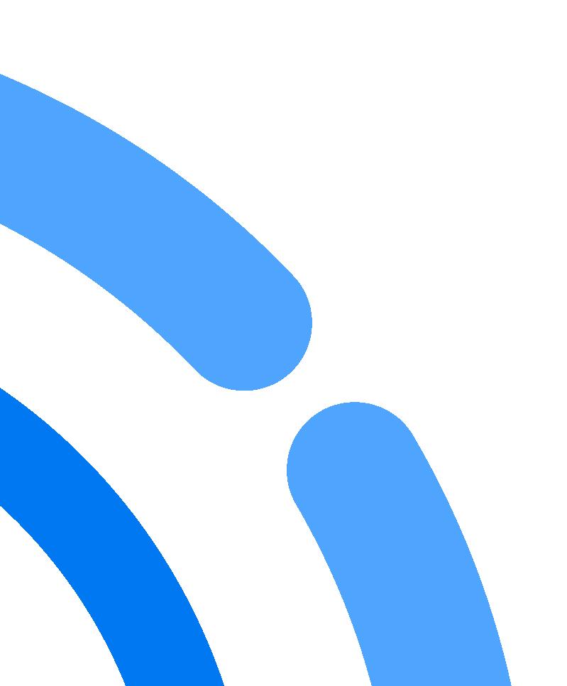 figure astratte blu