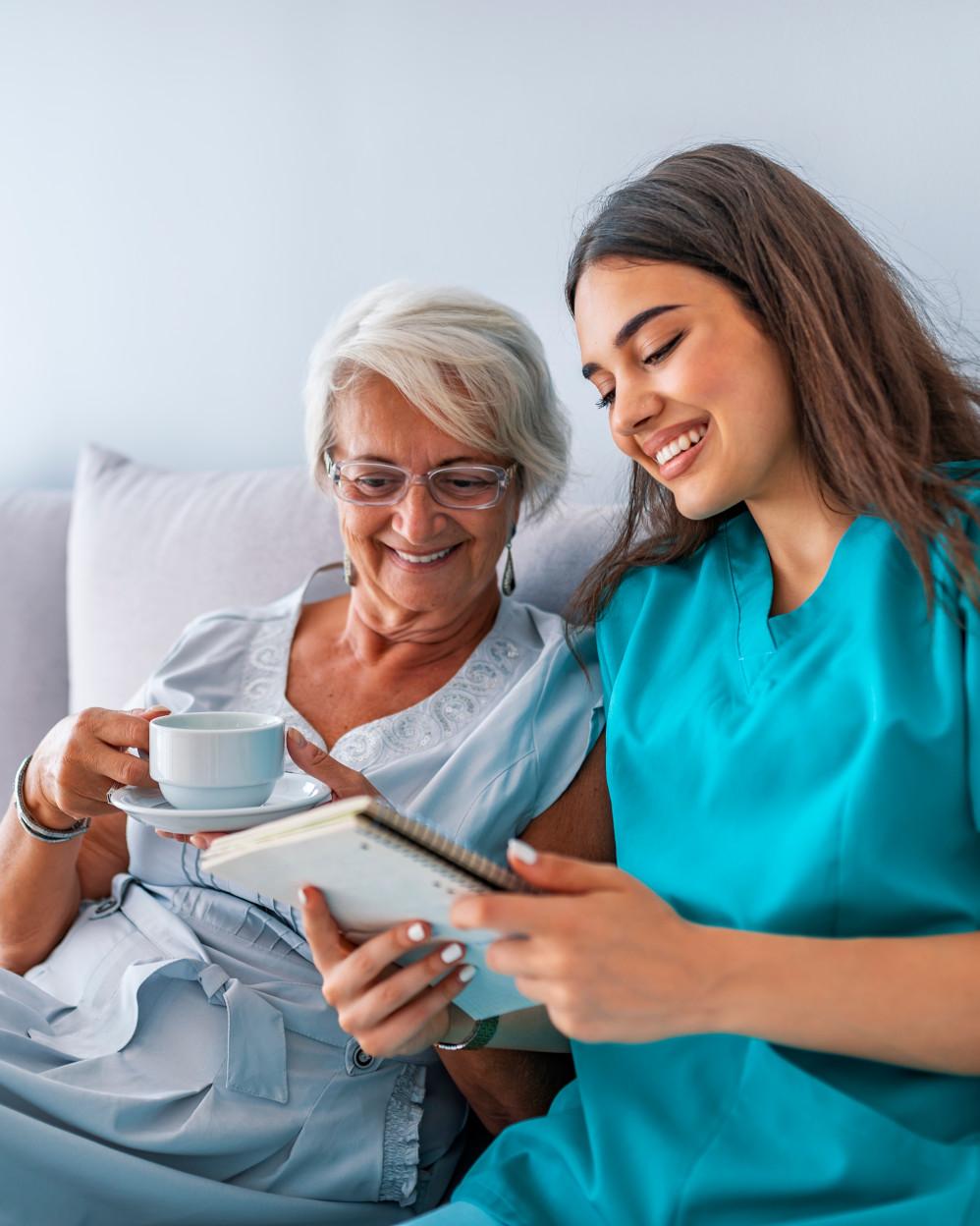 terapia occupazionale con infermiera